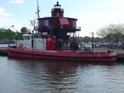 FIRE BOAT 2 (now retired)