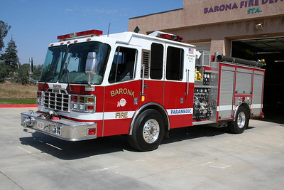 Barona Medic Engine Co. 27