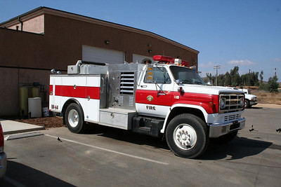 Barona older Brush truck