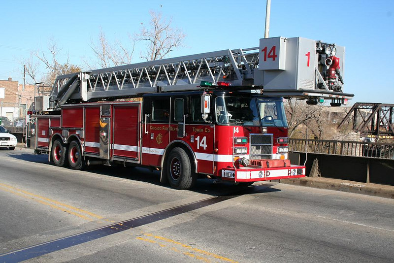 Tower Ladder 14, Pierce  Dash 100'