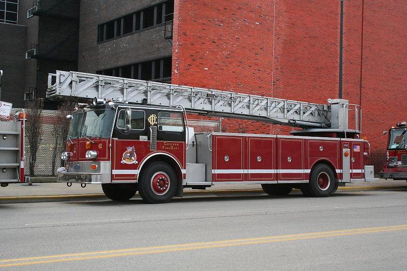 FIRE ACADEMY TRUCK 2, 1985 PIRSCH 110'