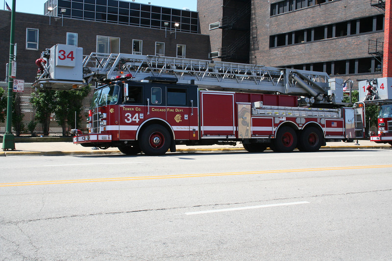 TOWER LADDER CO. 34