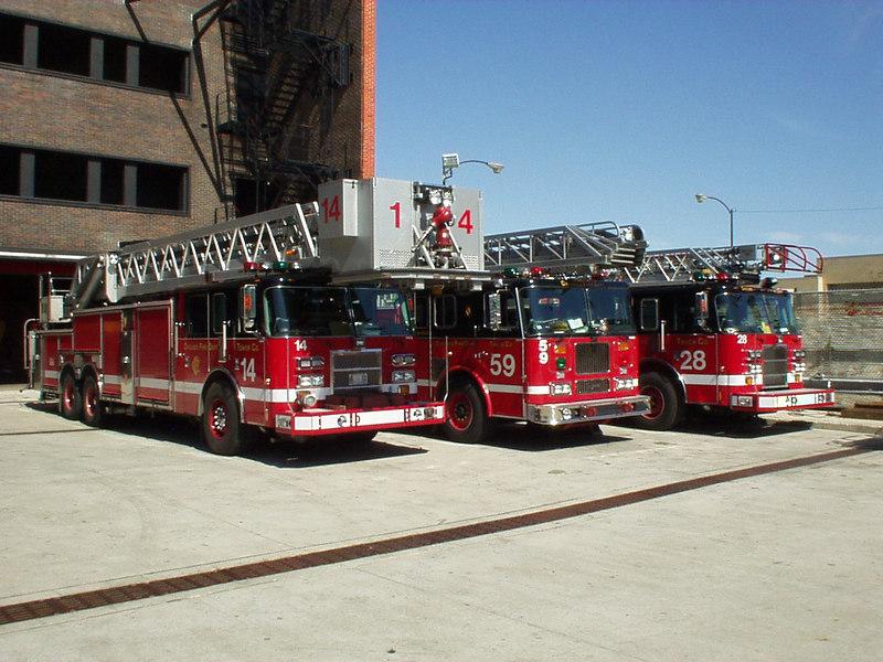 Tower 14, Trucks 59 & 28