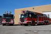 CHICAGO FIRE DEPT SPARTAN/CRIMSON TRUCKS PENDING ASSIGNMENT.