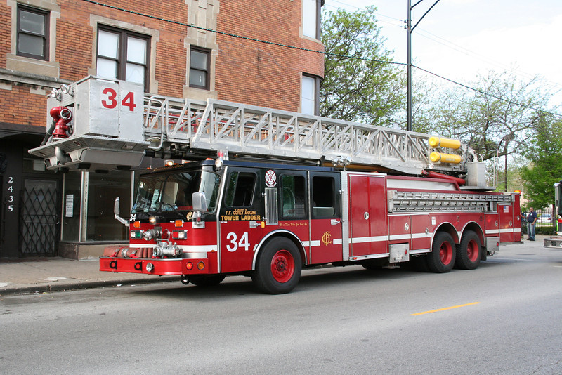 TOWER LADDER 34