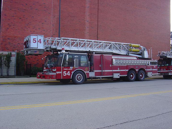 TOWER LADDER CO. 54, 1985 E-ONE 95' TL