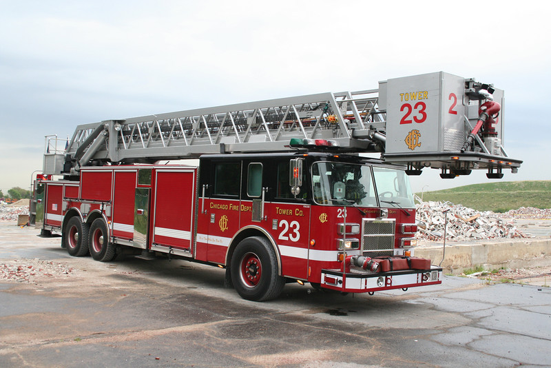 TOWER LADDER 23