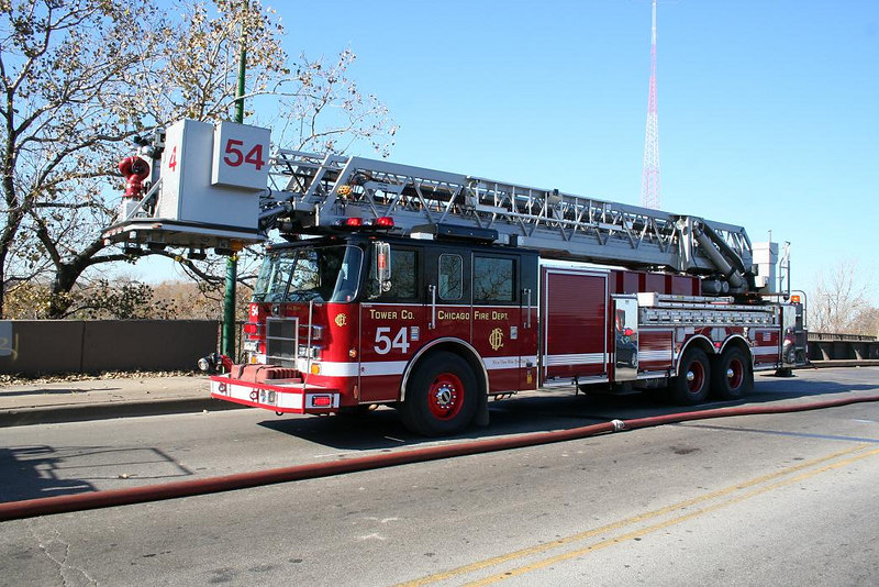Tower Ladder 54, Pierce Dash 100'