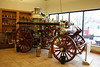 1902 AMERICAN STEAM FIRE ENGINE ON DISPLAY AT THE ALEXIS FIRE APPARATUS SALES OFFICE.