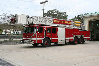 TAMPA RESERVE TOWER LADDER