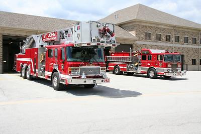 ST. JOHN TOWER 1 AND ENGINE 1