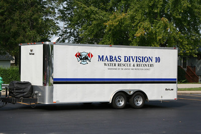 MABAS DIVISION 10 WATER RESCUE TRAILER