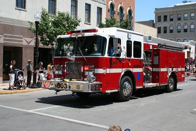 MOECHERVILLE ENGINE 603 (NOW AURORA TOWNSHIP FIRE)