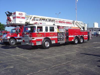 Bristol-Kendall FPD Tower Ladder 181