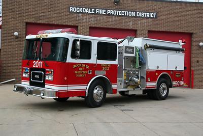 ROCKDALE FPD, ENGINE CO. 2011