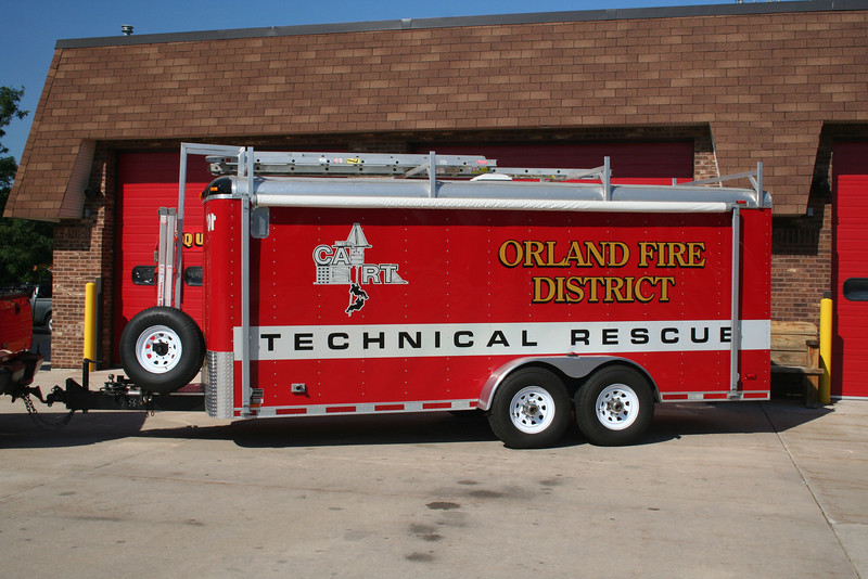ORLAND FPD TECHNICAL RESCUE TRAILER