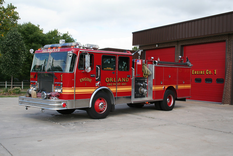 ORLAND FPD ENGINE CO. 1