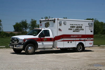 NEW LENOX AMBULANCE 1634
