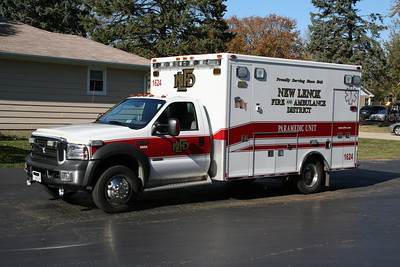 NEW LENOX AMBULANCE 1624