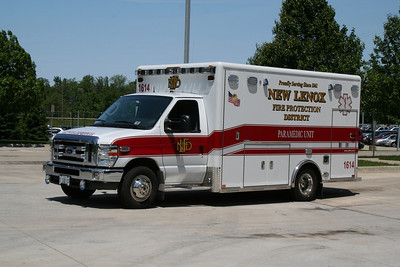 NEW LENOX AMBULANCE 1614