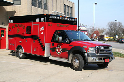 HOMEWOOD AMBULANCE 564