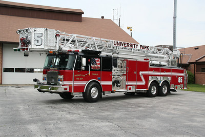 UNIVERSITY PARK TOWER LADDER 85