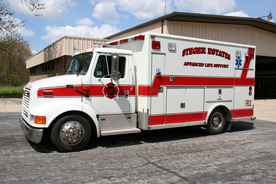 STEGER ESTATES, AMBULANCE 822