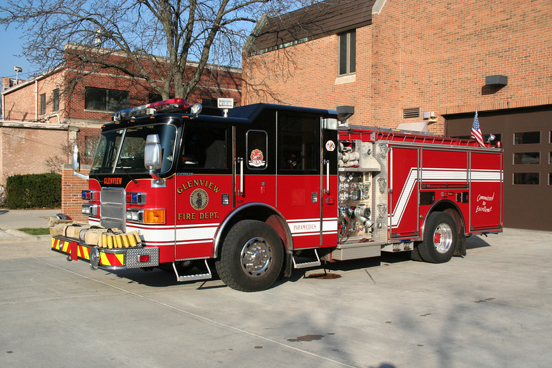GLENVIEW ENGINE CO. 8R