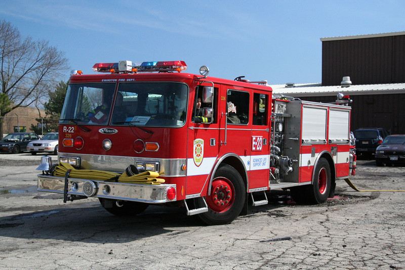 EVANSTON RESERVE ENGINE 22 (no longer in Evanston)