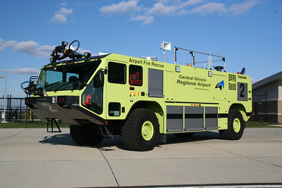 CENTRAL ILLINOIS REGIONAL AIRPORT, BLOOMINGTON. ARFF 2