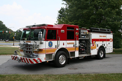 HOWARD COUNTY ENGINE CO. 71 2007 PIERCE 1250/750