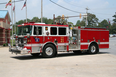 HOWARD COUNTY / ELLICOTT CITY ENGINE CO. 21 2010 SEAGRAVE 1500/750