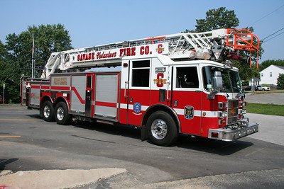 SAVAGE/HOWARD COUNTY TRUCK CO. 6 2002 PIERCE DASH 105'