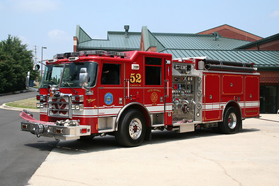 HOWARD COUNTY / FIFTH DISTRICT ENGINE CO. 52 2008 PIERCE
