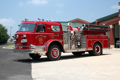 HOWARD COUNTY / FIFTH DISTRICT ENGINE CO. 54 1969 AMERICAN LaFRANCE 1250/500 (2002 REFURBISHED)