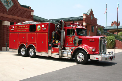 HOWARD COUNTY / FIFTH DISTRICT SQUAD CO 5 2003 KENWORTH/PIERCE