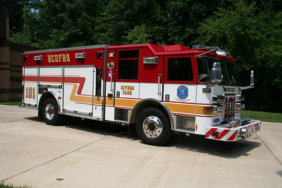 HOWARD COUNTY ENGINE CO. 101 2004 PIERCE ENFORCER 1500/720/30