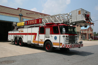 HOWARD COUNTY TOWER LADDER 2 2007 E-ONE 95'