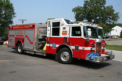 SAVAGE/HOWARD COUNTY ENGINE CO. 62 2007 PIERCE 1250/750/40