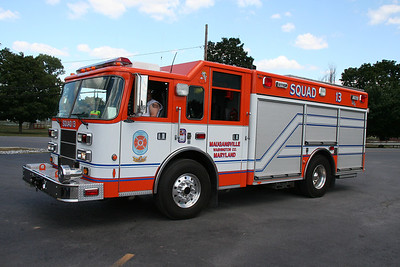 MAUGANSVILLE SQUAD CO. 13