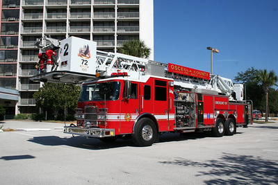Osceola County Tower Ladder 72