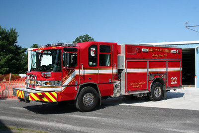 BARLOW FIRE CO, RESCUE CO. 22