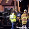 CAR INTO BUILDING