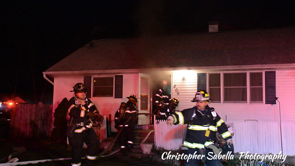 BELLPORT BASEMENT FIRE  806 POST AV 12/20/15