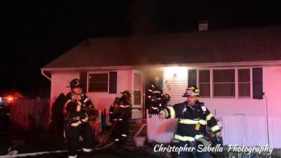 BELLPORT BASEMENT FIRE  806 POST AV 12/20/15