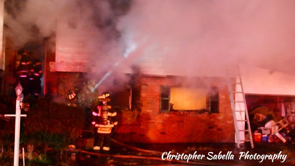 BRENTWOOD HOUSE FIRE IN 12 DEGREE TEMP