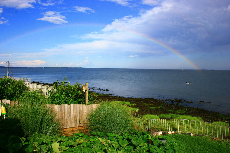 Rainbow<br /> Looking at East Haven from West Haven, CT
