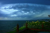 Incoming storm from Milford