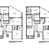 Existing and Proposed Main Floor Plan