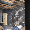 FIRE DAMAGE - BEDROOM
